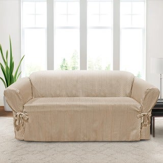 CoverWorks Monroe 1-piece Relaxed Fit Sofa Slipcover
