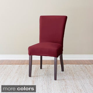 Coverworks Harper Stretch Suede Dining Chair Slipcover