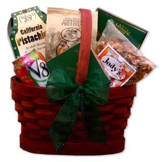 Healthy Snacks Gift Basket