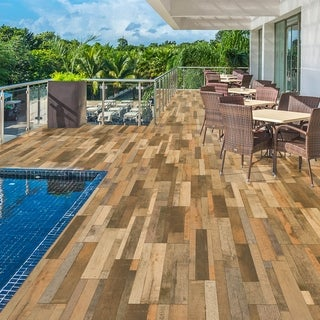 SomerTile 7.875x23.625-inch Bosque Mix Ceramic Floor and Wall Tile (10 tiles/13.33 sqft.)