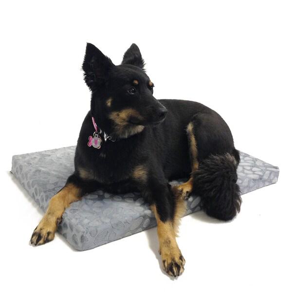 Pebble Orthopedic Memory Foam Dog Mat