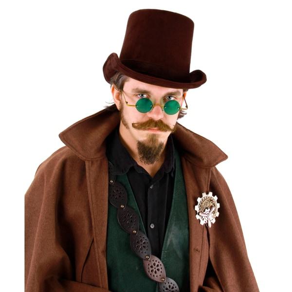 Coachman Dark Brown Steampunk Top Hat