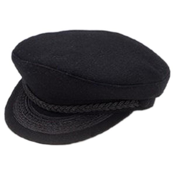 Greek Fisherman Adult Hat Black