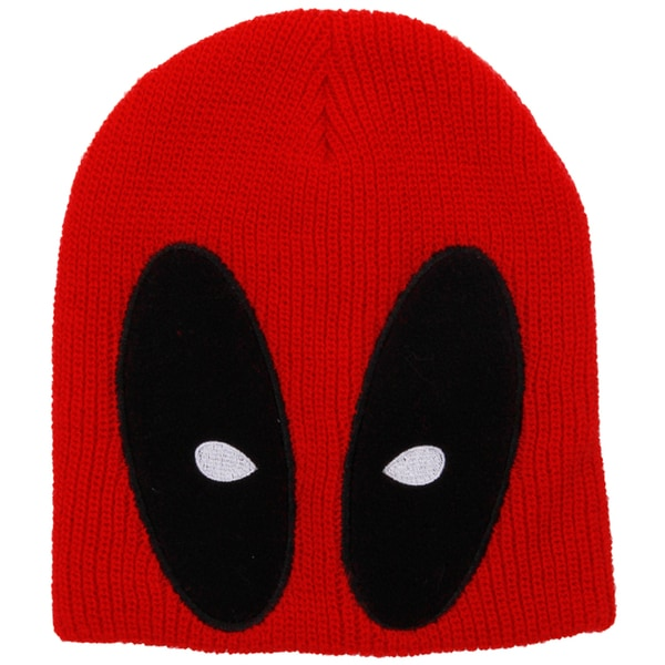 Marvel Deadpool Slouch Beanie Knit Hat\