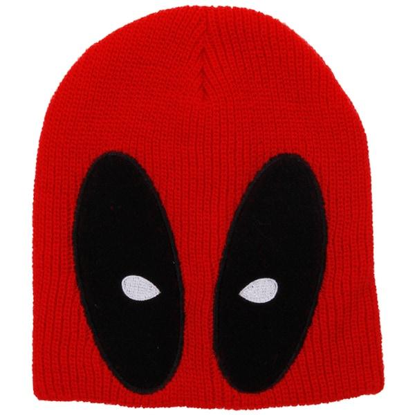 Marvel Deadpool Slouch Beanie Knit Hat\