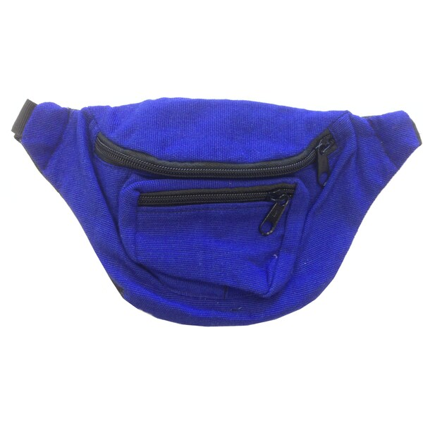 Blue Fanny Pack Bag<img class=