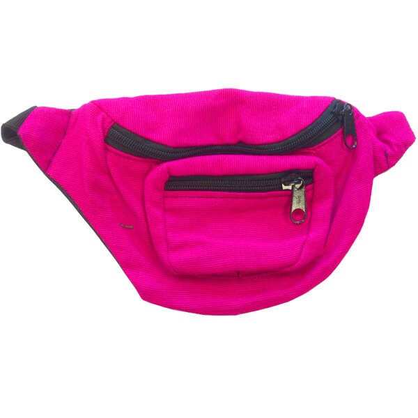 Bright Pink Fanny Pack Bag
