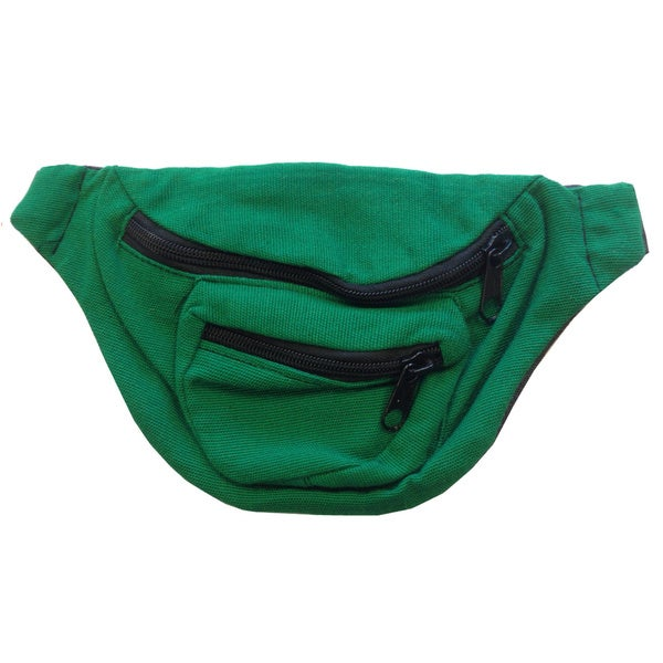 Kelly Green Fanny Pack Bag