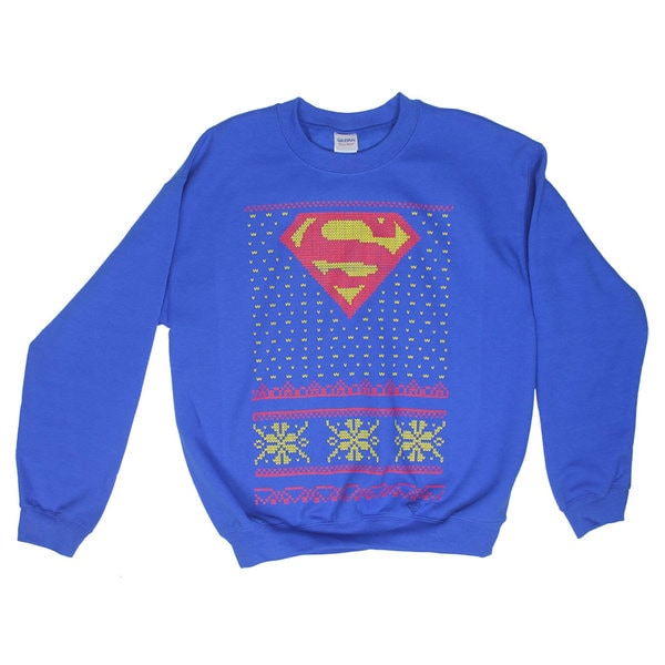 Superman Ugly Christmas Sweater