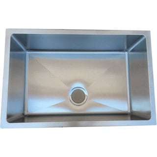 Starstar 30 X 18 Undermount 16 Gauge 304 Stainless Steel Kitchen Sink Bowl