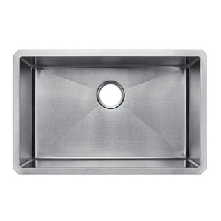 Starstar 29 X 19 Undermount 16 Gauge 304 Stainless Steel Kitchen Sink Bowl