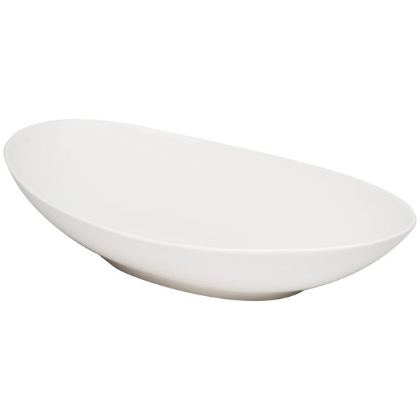 Whisper White 14-inch Oval Bowl (Set of 2)