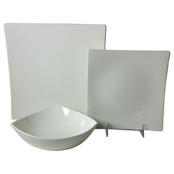 Extreme White 18-piece Dinner Set