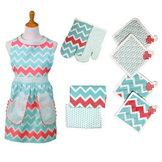 9-piece Kitchen Apron Set