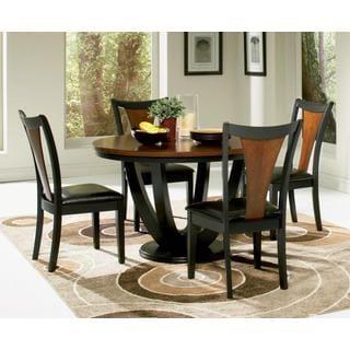 Saratoga 5-piece Wood Dining Set