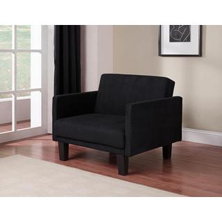 DHP Metro Futon Chair, Black