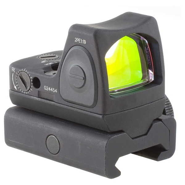 Trijicon RMR Sight Adjustable 6.5 Minutes Of Angle with RM34W Weaver Mount