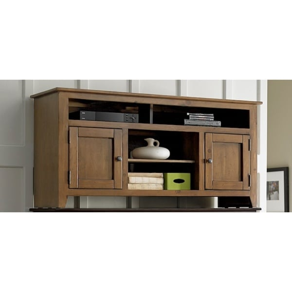 Rio Bravo 58-inch Pine Wood Entertainment Console