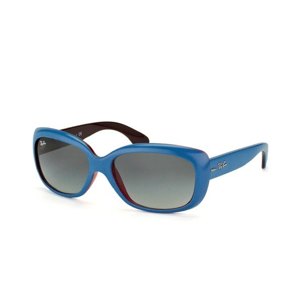 Ray -Ban Jackie Ohh RB4101 Blue Grey Gradient 58mm Sunglasses 15775719