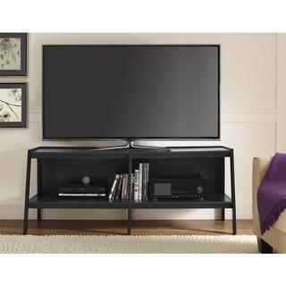 Ameriwood Home 60-inch Black Ladder TV Stand