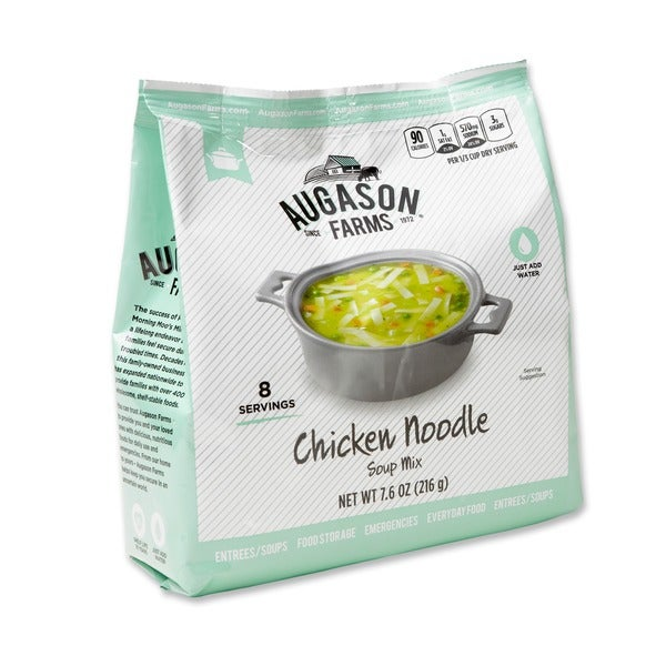 Augason Farms Pantry Pack Chicken Noodle Soup Mix (Pack of 6) 15775980
