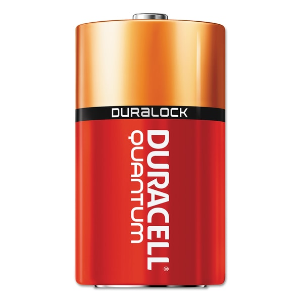 Duracell Quantum Alkaline C Batteries with Duralock Power Preserve Technology (Pack of 12 Batteries)