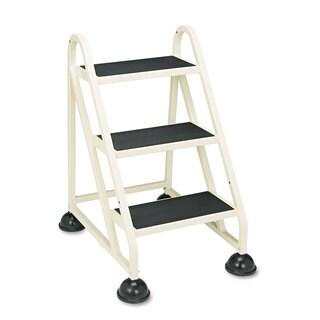 Cramer Stop-Step 3-Step Beige Aluminum Ladder