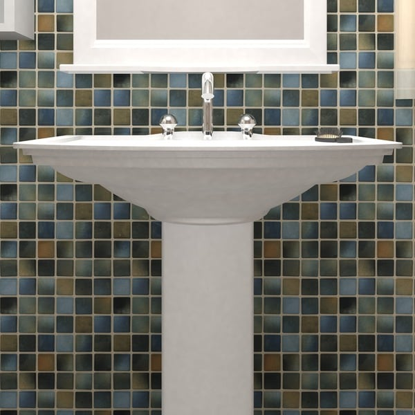 SomerTile 12.5x12.5-inch Knight Brook Porcelain Floor and Wall Tile (Case of 10)