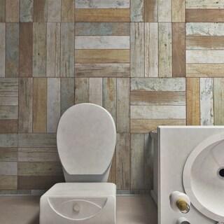 SomerTile 17.63x17.63-inch Royals Bretagne Ceramic Floor and Wall Tile (5 tiles/11.02 sqft.)