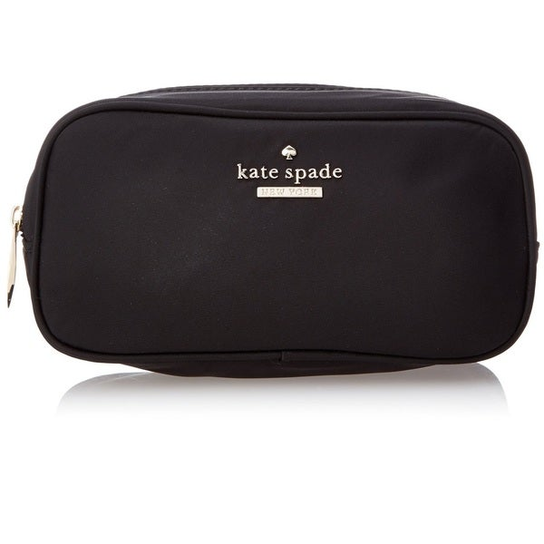 Kate Spade New York Classic Nylon Ezra Zipper Cosmetic Case