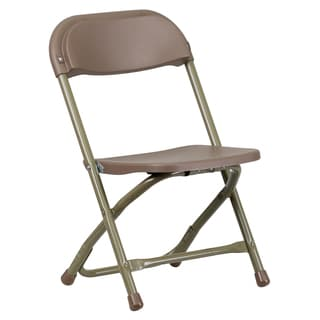 Dahila Kids Brown Folding Chairs
