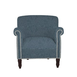 angelo:HOME Carissa Parisian Blue Evening Arm Chair