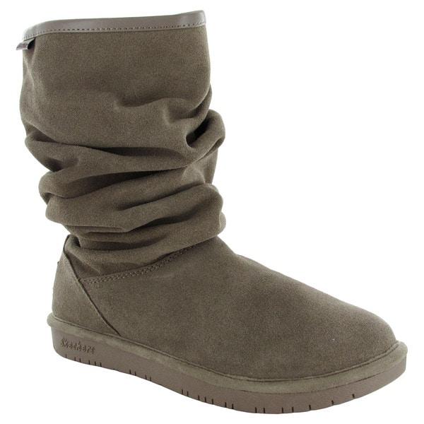 Skechers Womens Shelbys-Helsinki Slouch Snow Boots