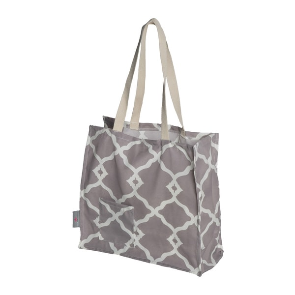Weather-resistant Printed Tote Bag