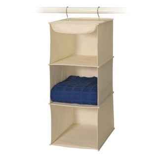 3-shelf Canvas Sweater Organizer