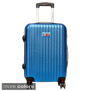 English Laundry 21-inch Carry-on Hardside Spinner Upright Suitcase