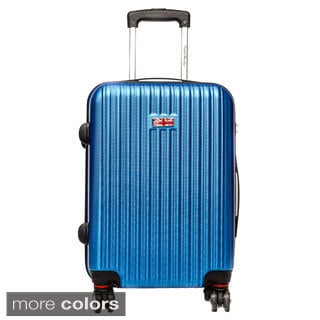 English Laundry 21-inch Carry On Hardside Spinner Upright Suitcase