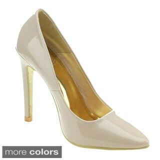 Cape Robbin Veni-jll-9 Women's Chic Basic Dress Heels