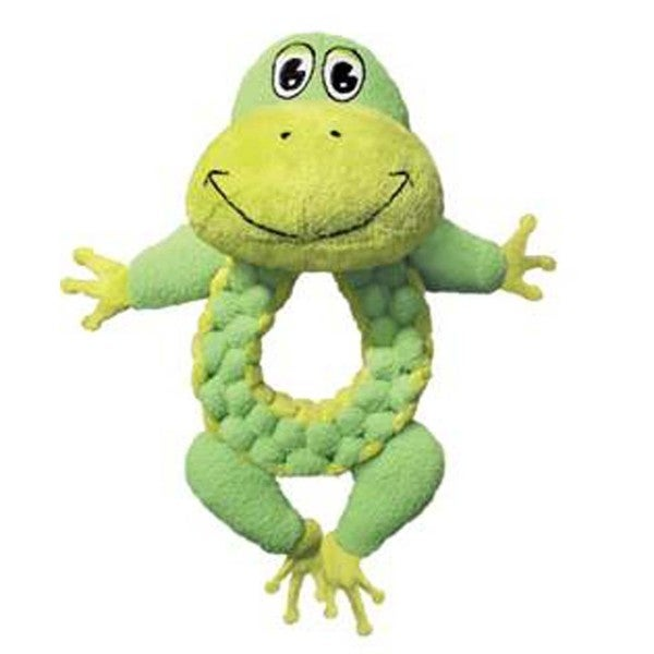 Kong Large Round Braidz Frog