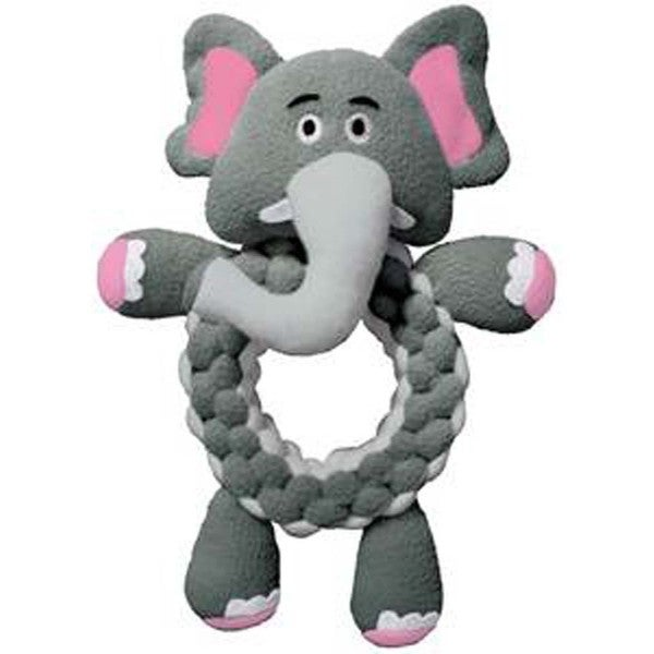 Kong Large Round Braidz Elephant