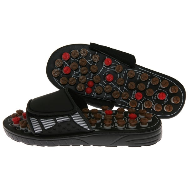Reflexology Sandals with Rotating Massage Heads