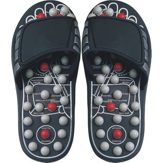 Reflexology Sandals Black Pearl