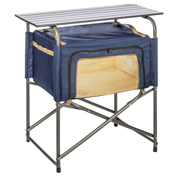 Kamp Rite Folding Prep Table with Insulated Bag