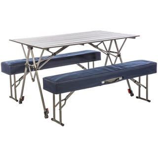 Kwik Set Table with Benches