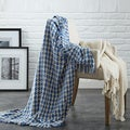 2 Pack 100-percent Cotton Houndstooth throws