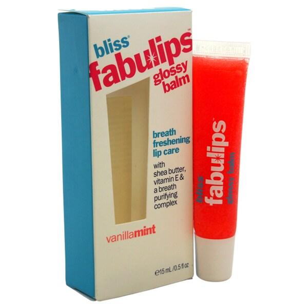 Bliss Fabulips Glossy Balm Vanilla Mint 15778102