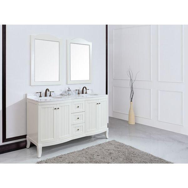 Eviva Odessa Z. 60-inch White Vanity