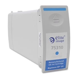 Elite Image Remanufactured Dye Ink Cartridge Alternative For HP 81 (C4931A) - 1 Each