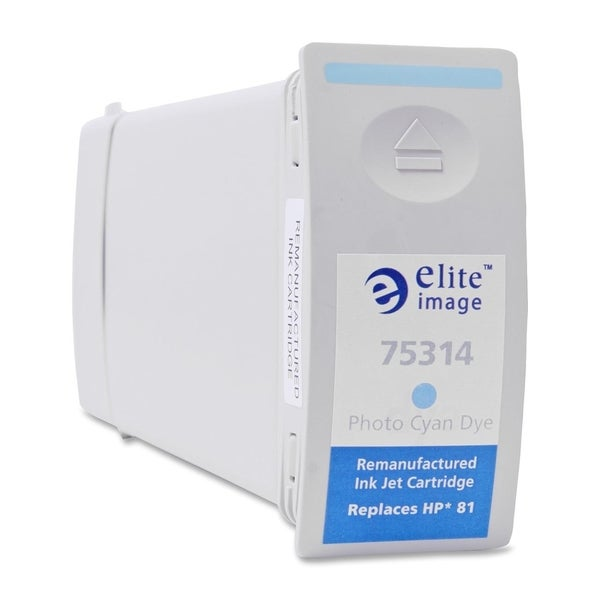 Elite Image Remanufactured Dye Ink Cartridge Alternative For HP 81 (C4934A) - 1 Each