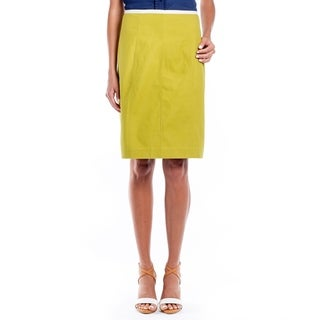 DownEast Basics Women's Textured Sagamore Pencil Skirt